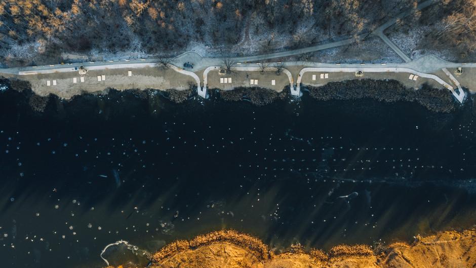 Первая очередь благоустройства зоны озёр Щёлоковского хутора
