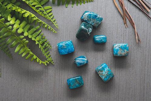 Blue Apatite (Polished)