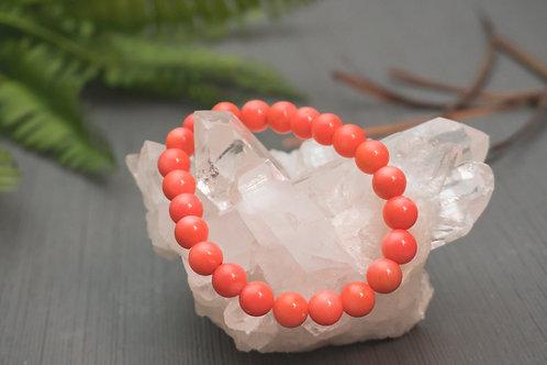 Pink Coral Bracelet