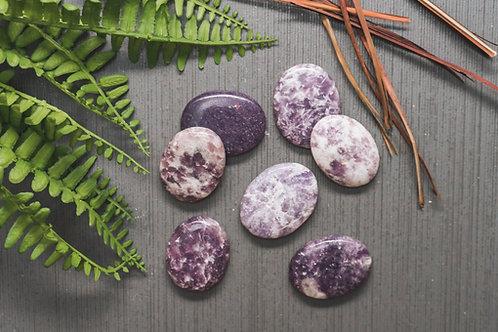 Lepidolite Thumb Stone