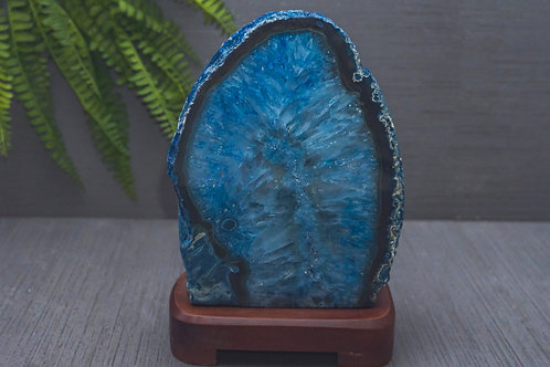 Agate Lamp- with base