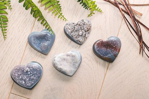 Agate Heart- Medium