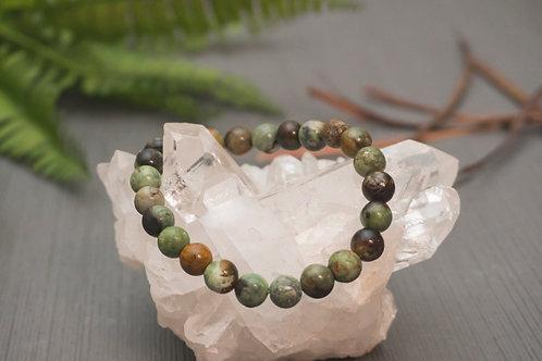 Green African Opal Bracelet