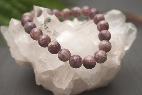 Lepidolite Bracelet-Light