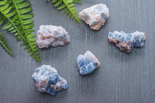 Blue Calcite (Raw)