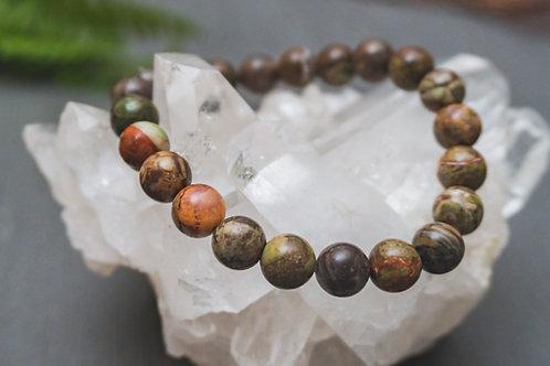 Rainforest Agate Bracelet