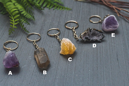 Assorted Crystal Key Chains