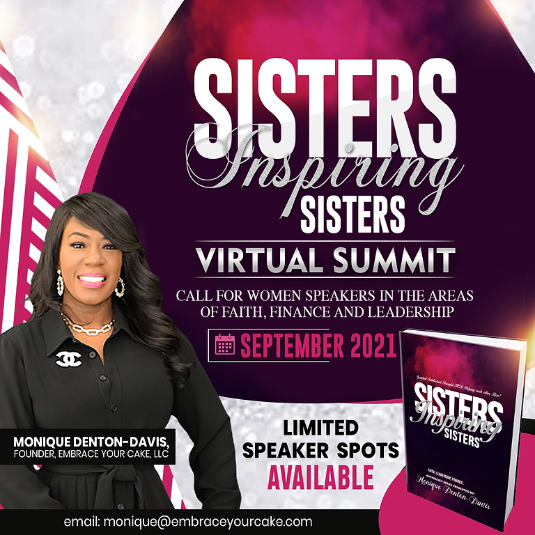 Sisters Inspiring Sisters (SIS) Virtual Summit & Anthology Project