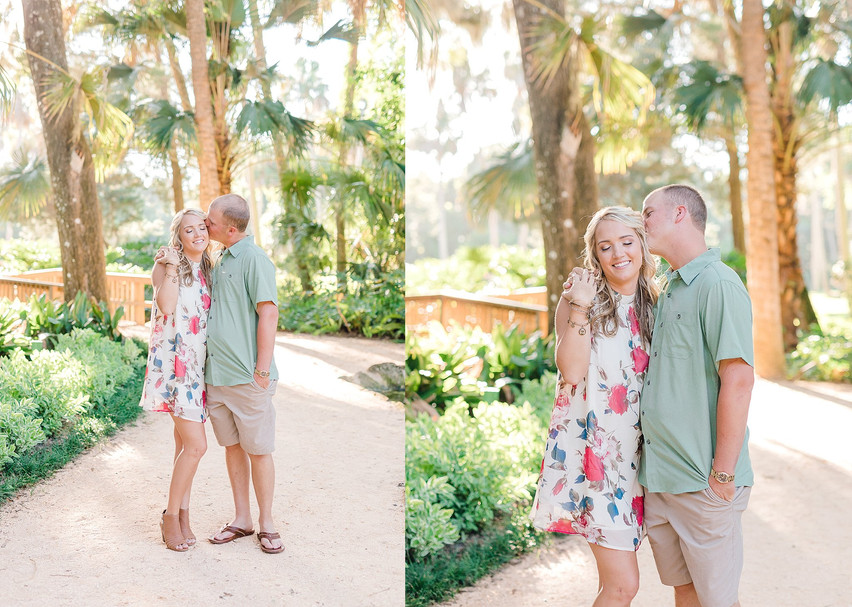 PJ and Tanner | Washington Oak and Gardens Engagement
