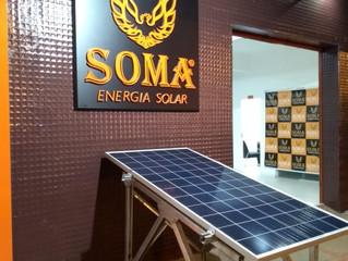 Soma Energia Solar inaugura sua nova sede em Muriaé/MG