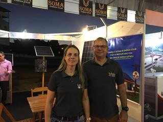 Soma Energia Solar esteve presente na Feira de Negócios de Cachoeiro de Itapemirim/ES