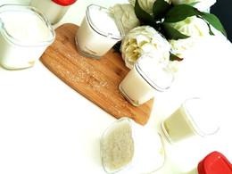 Yaourts au lait de Coco et Ananas