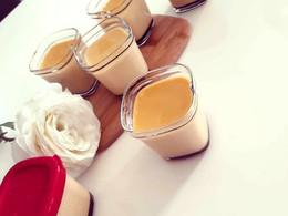 Flan au caramel vanille
