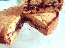 Cookies géant cœur Nutella