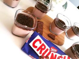 Crèmes desserts au chocolat Crunch