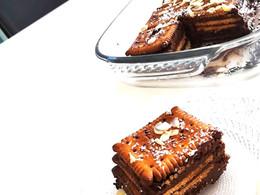 Gâteau petits Lu à la mousse au chocolat