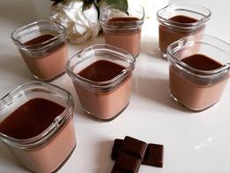 Crème dessert chocolat au lait