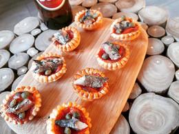 Tartelettes à la sardine