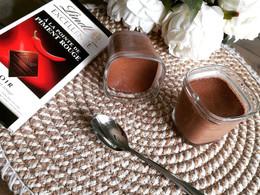 Crèmes desserts au chocolat à la pointe de piment rouge