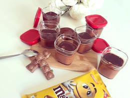 Crèmes desserts au chocolat M&MS