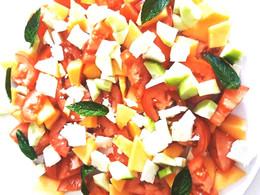 Une salade fraicheur comme je les aime !