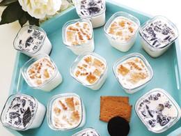 Yaourts aux biscuits oréo et petits-beurre