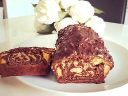 Cake marbré façon rocher