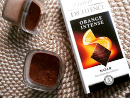 Crèmes desserts chocolat orange