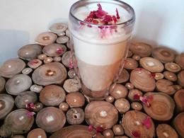 Chai latte à la rose