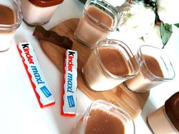 crème dessert au kinder Maxi