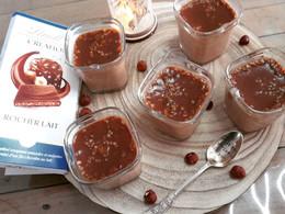 Crèmes desserts Rocher lait