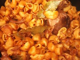 Pâtes /Paleron au Cookeo