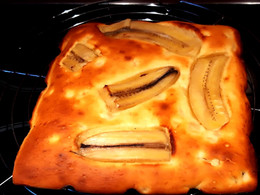 Banana bread au citron vert