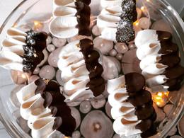 Meringues vanille chocolat coco