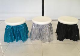 ocean stool skirts