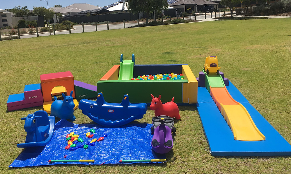 Little Monkeys Party Hire; Kids Party Hire Perth; Toy Hire Perth