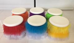 Coloured kids stool skirts