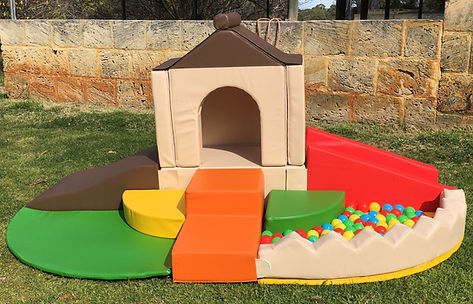 Little Monkeys Party Hire Softplay playhouse