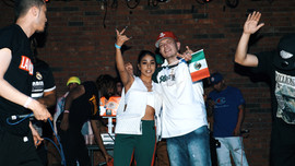 On Stage with Stunn713 and Krystall Poppin Cinco de Mayo
