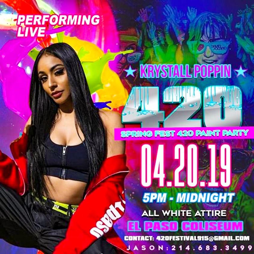 El Paso 420 Paint Party w/ Danileigh
