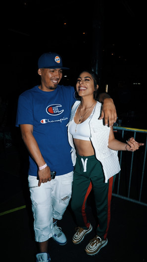 Money Mike and Krystall Poppin
