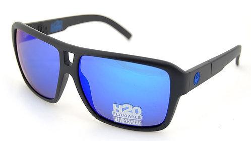 DRAGON VERSE POLARISED MATTE BLACK H20 BLUE