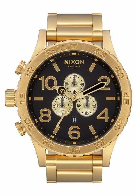 Nixon 51-30 Chrono Watch All Gold / Black