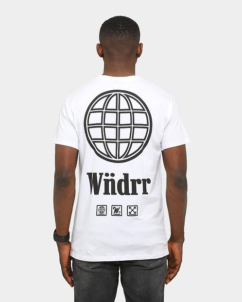 WNDRR Orbit Tee -White