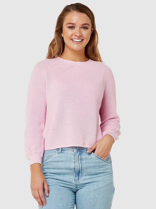 Elwood  Shine Knit - Pink