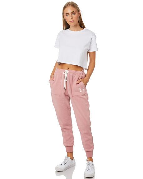 Elwood EA Track Pants - Blush