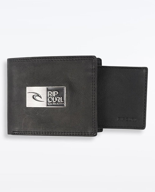 Rip Curl Stackawatu Leather Wallet - Black