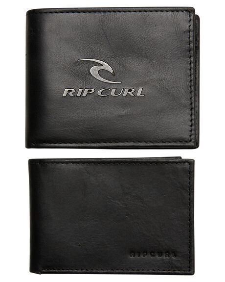 Rip Curl Corpowatu Leather Wallet - Black