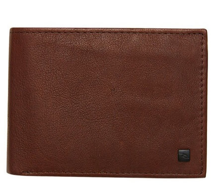 Rip Curl K-Roo Leather Wallet - Brown