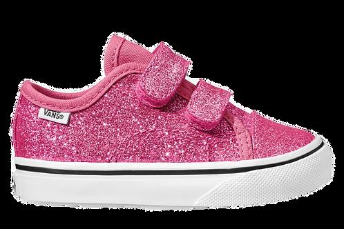 Vans velcro Toddler - Pink glitter